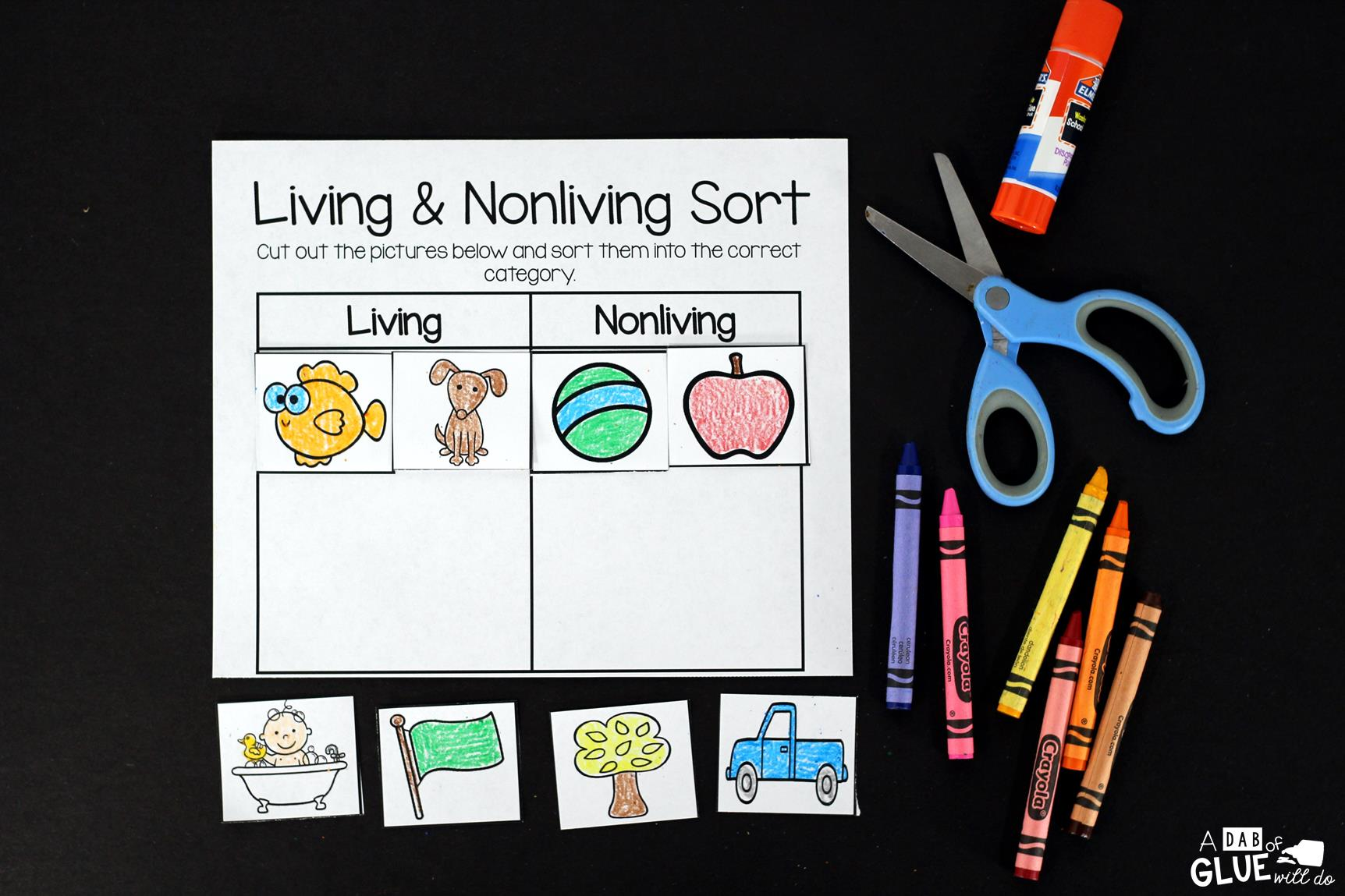 Living Nonliving