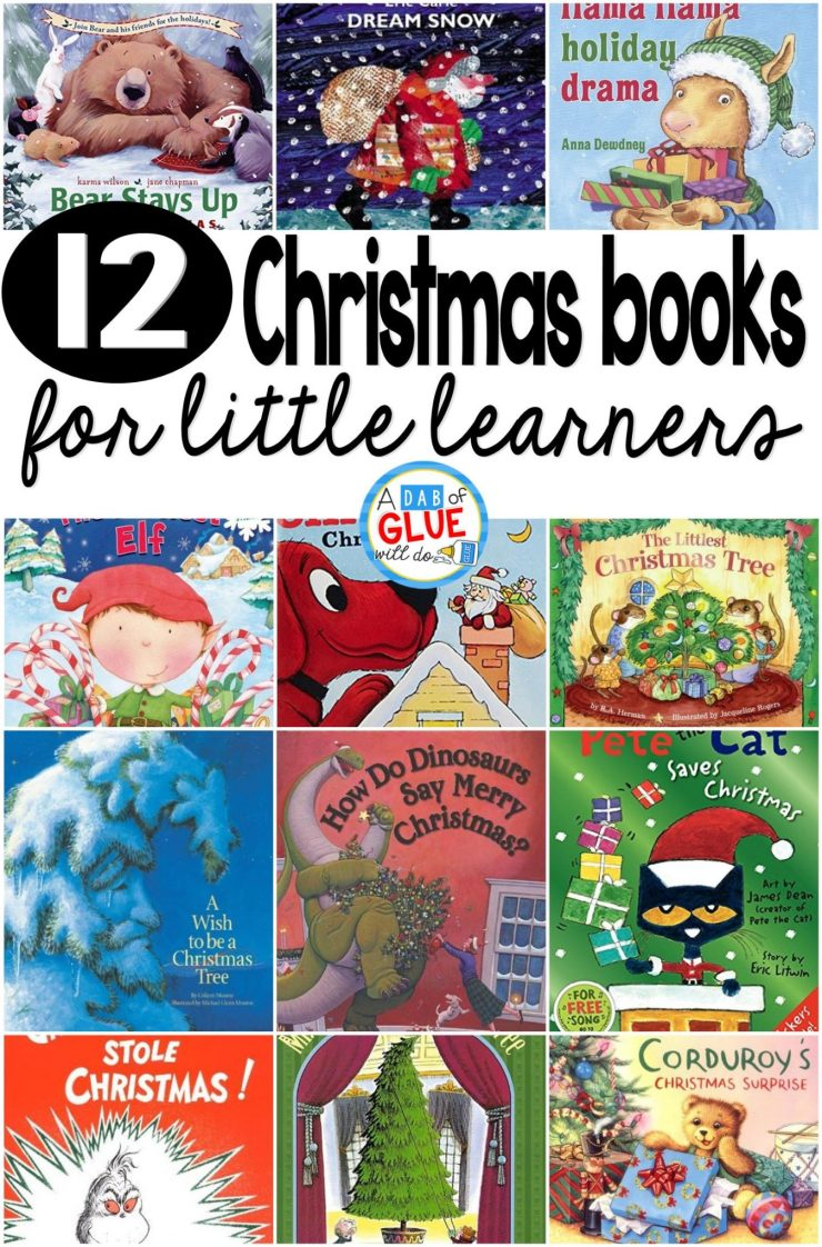 Children's Christmas Books | Children's Christmas Books for Little Learners are a great stocking stuffer or to read to your students in a classroom setting!