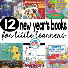 12 New Year's Books for Little Kids