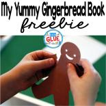 My Yummy Gingerbread Book is the perfect hands-on activity to do with your preschool, kindergarten, or first grade students. This free printable allows students to listen and follow directions, while having fun. It is perfect for the Christmas and holiday season.