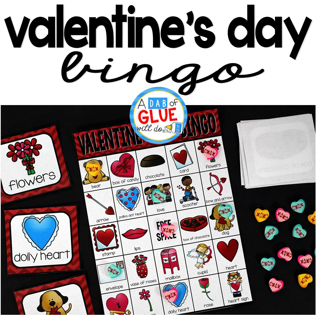 Bingo Sheets For Valentine S Day