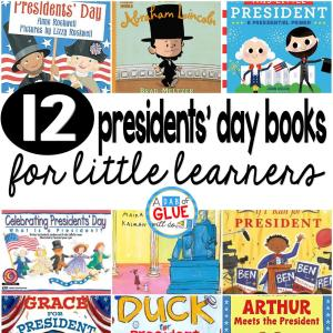 12 Presidents' Day Books for Little Learners