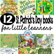 12 St. Patrick's Day Books for Little Learners