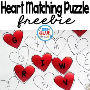 Heart Matching Puzzle