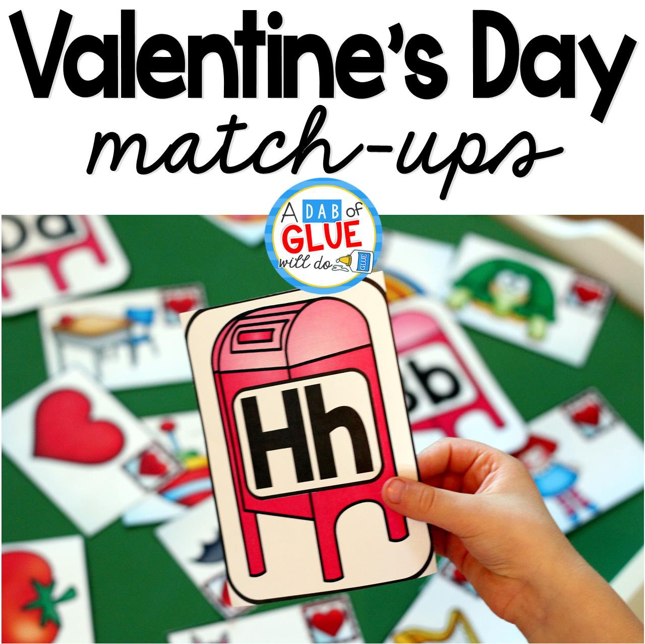 Valentine S Day Initial Sound And Number Match Ups
