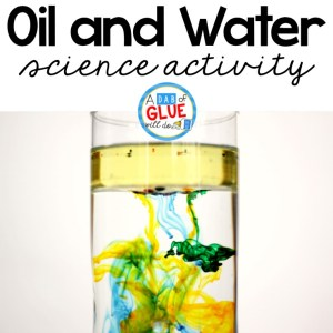 Oil and Water Science Activity