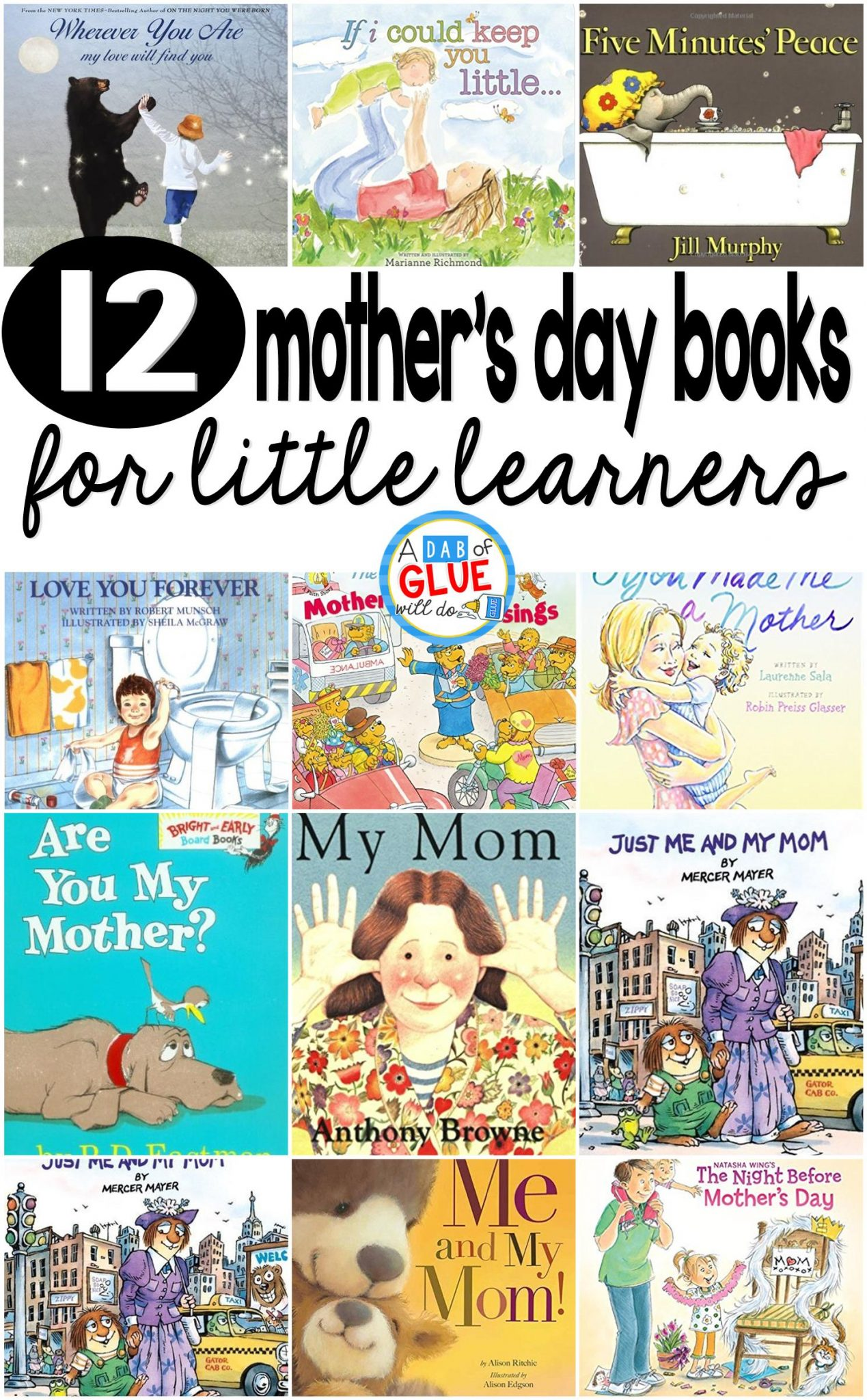 12 Mother S Day Books For Little Learners