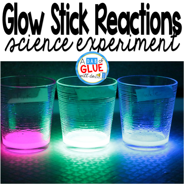 Glow Stick Science Chemical Reaction Lab
