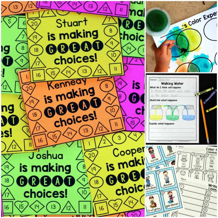Teachers work tirelessly and I applaud you each day for the amazing difference you are making in the lives of your students. To help you along the way, here are 52 Weeks of Printables for Little Learners! Just print and learn every week of the year!