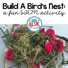 STEM For Kids: Build A Bird's Nest