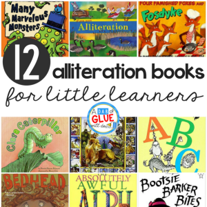 12 Alliteration Books for Little Learners