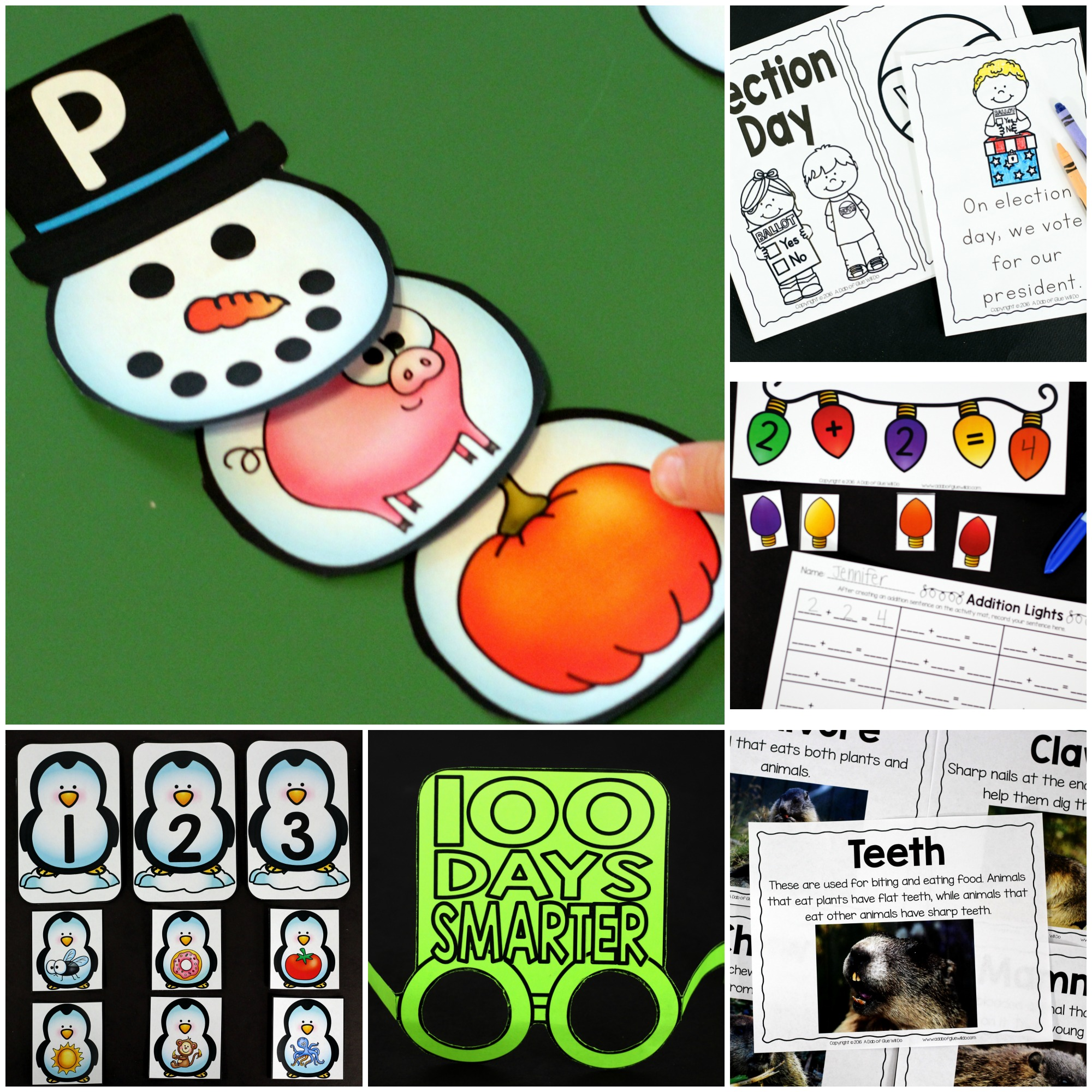 52 Weeks Of Printables For Little Learners