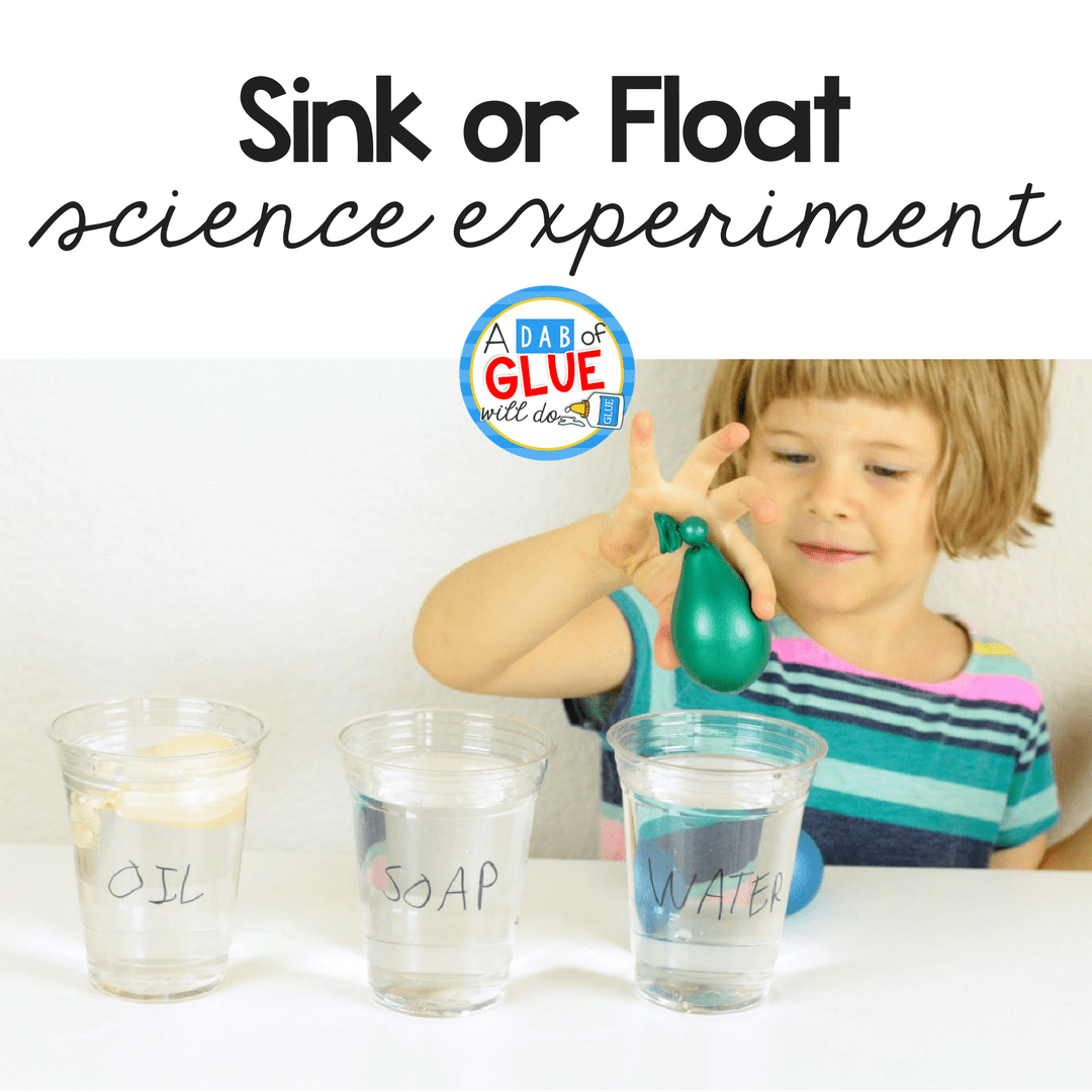 This Fun Sink Or Float Science Experiment Explores The