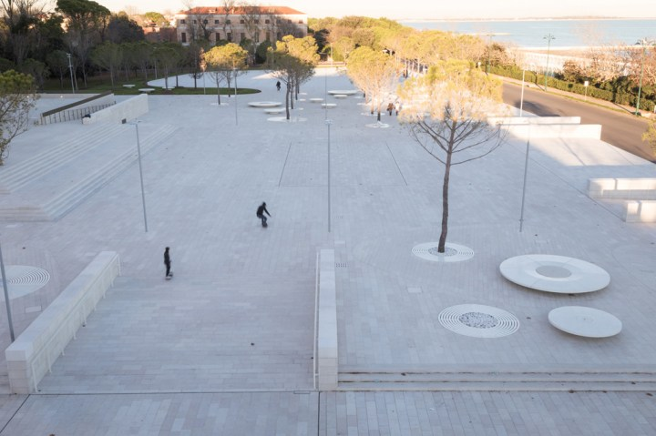 Piazza del Cinema, Lido di Venezia. Courtesy C+S Architects