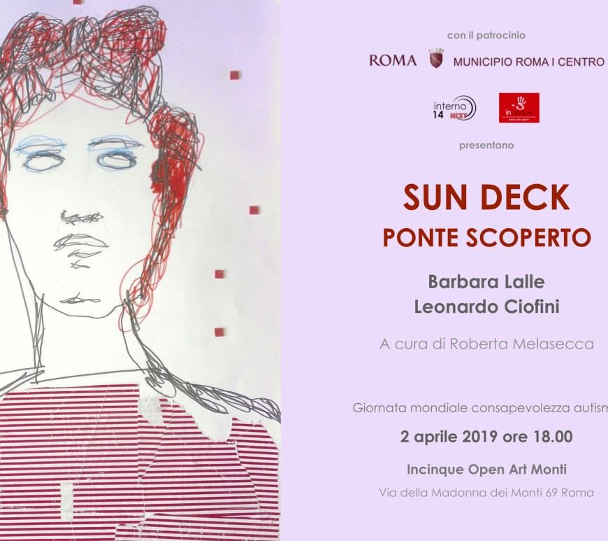 Locandina, Sun deck - Ponte scoperto, Incinque Open Art Monti