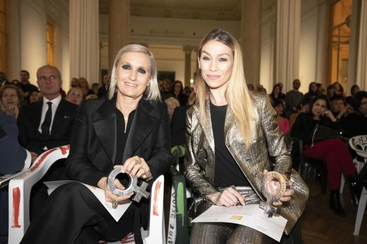 Premio ARTE: Sostantivo Femminile. Maria Grazia Chiuri, Eleonora Abbagnato