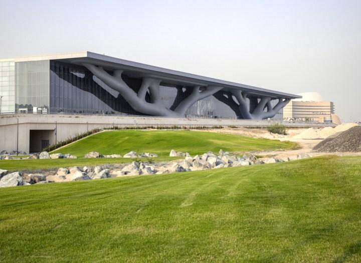 Arata Isozaki, Overall view from southwest, Qatar National Convention Center (2011), Hisao SUZUKI