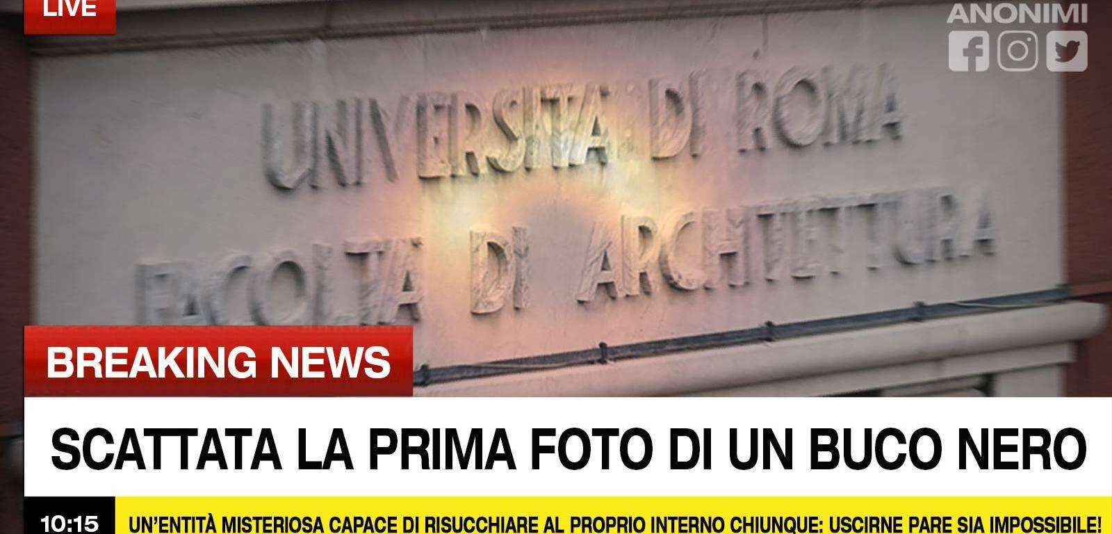 Buco Nero. Courtesy Architetti Anonimi