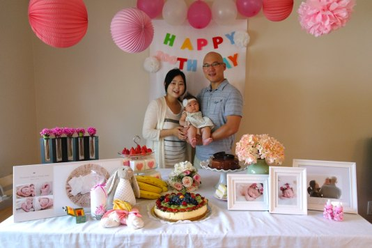Birthday for baby Victoria