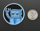 Robotics! - Skill badge, iron-on patch