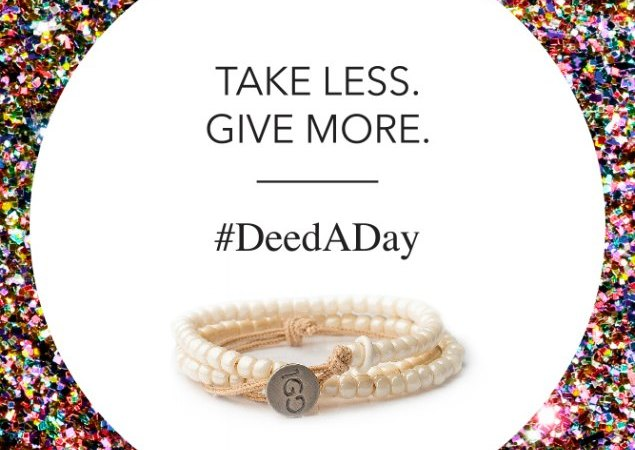 100 Good Deeds with #DeedADay