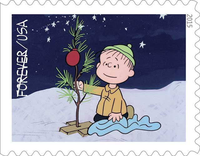 The 2015 Charlie Brown Christmas Stamps are available for your Christmas cards at the US Postal Service!