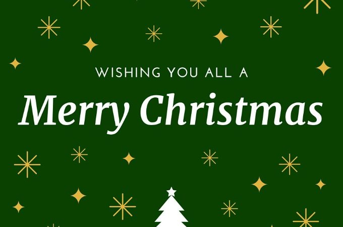 Wishing everyone a Merry Christmas and Happy New Year!