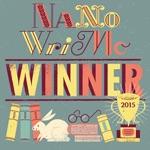 NaNoWriMo 2015 winner image