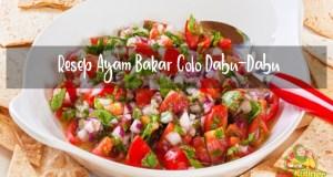 Resep Ayam Bakar Colo Dabu-Dabu