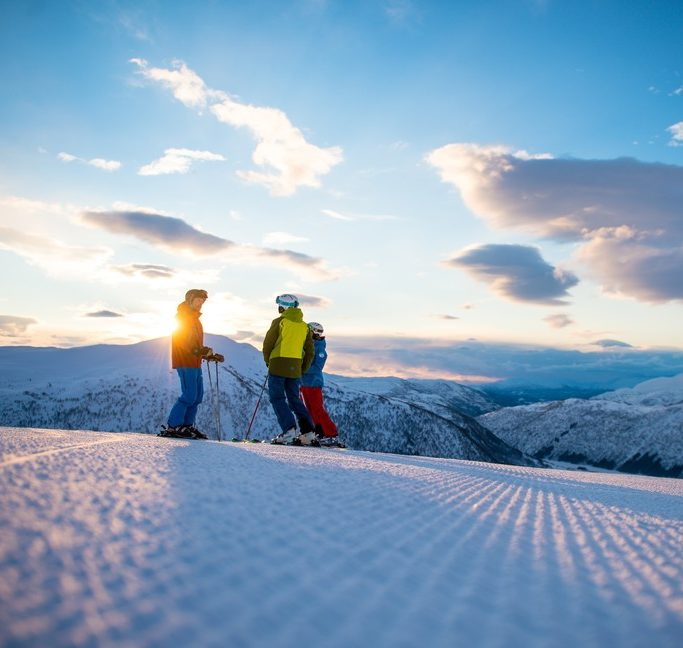 Myrkdalen voss Freeride the Fjord Norway ski skitouring winter Scandinavia Adam Attew
