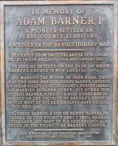 Adam Barner Memorial