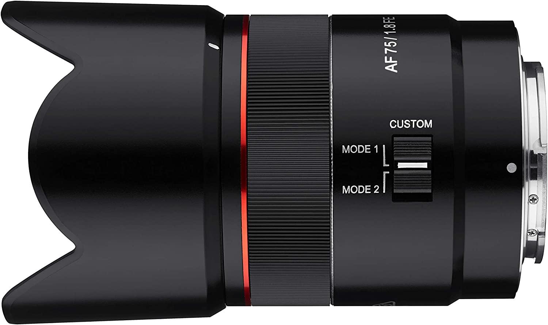 Samyang AF 75mm F1.8 Autofocus Lens for Sony FE