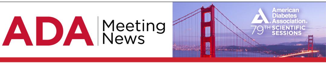 ADA Meeting News