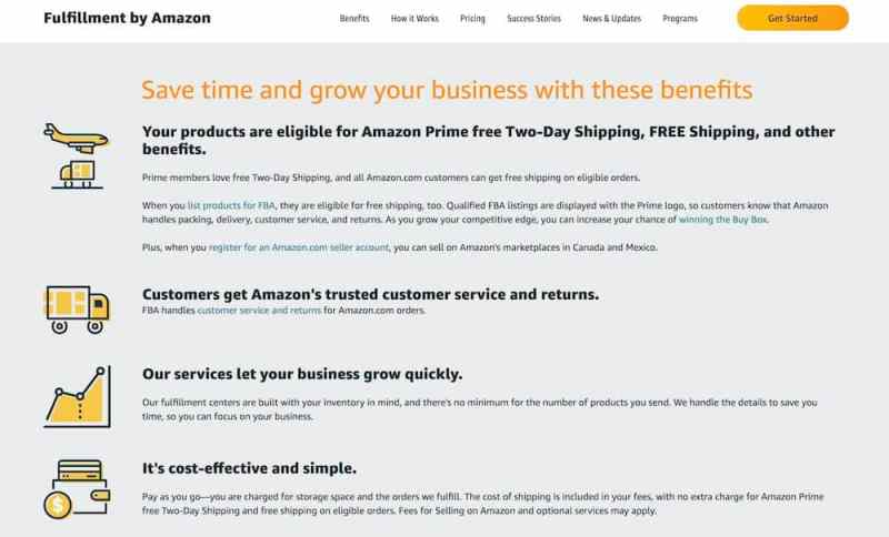 fulfillment by amazon fees