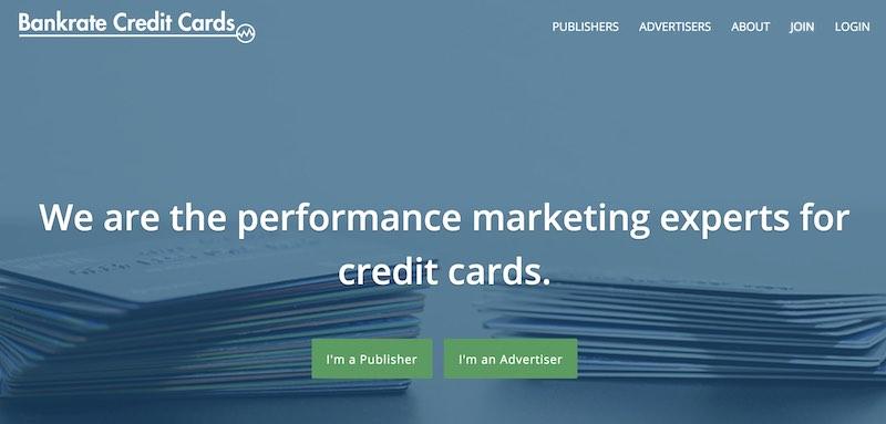 Programas de afiliados de tarjetas de crédito