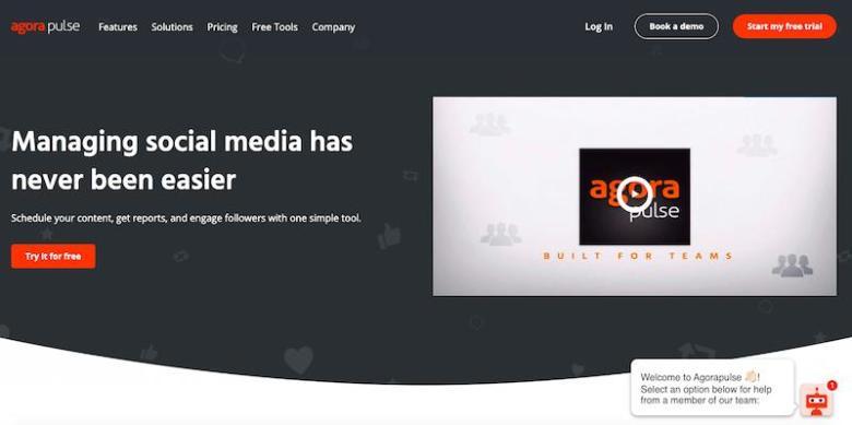 I migliori strumenti di gestione dei social media: Agora Pulse