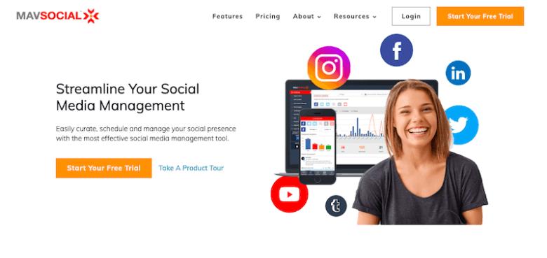 I migliori strumenti di gestione dei social media: MavSocial