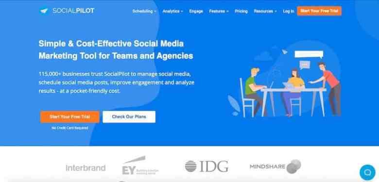 I migliori strumenti di gestione dei social media: Social Pilot