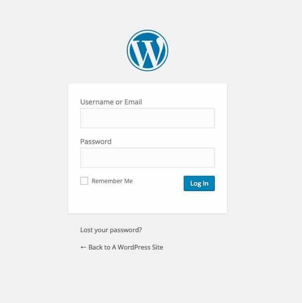 Come avviare un blog - Accesso a WordPress