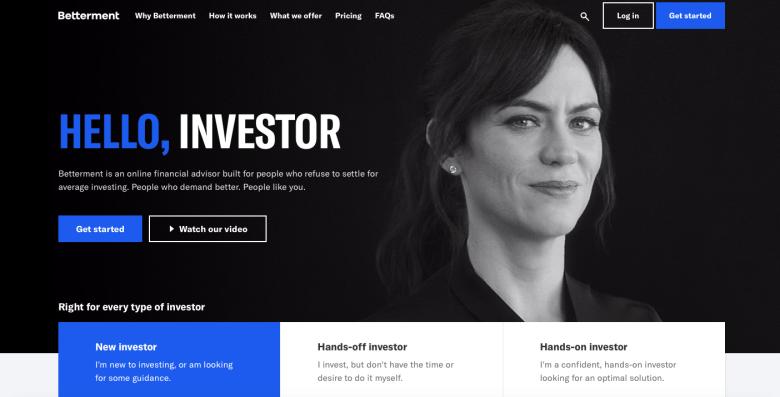 Home Page di miglioramento