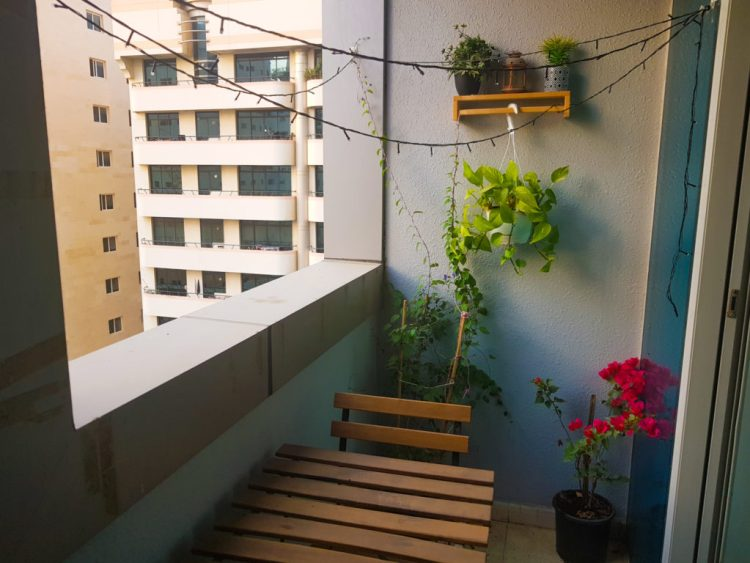 Budget Balcony Makeover In Uae Tips And Tricks Studio Apartment