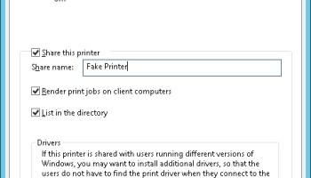 Deploying Printers In Windows 10 - AdamFowlerIT com
