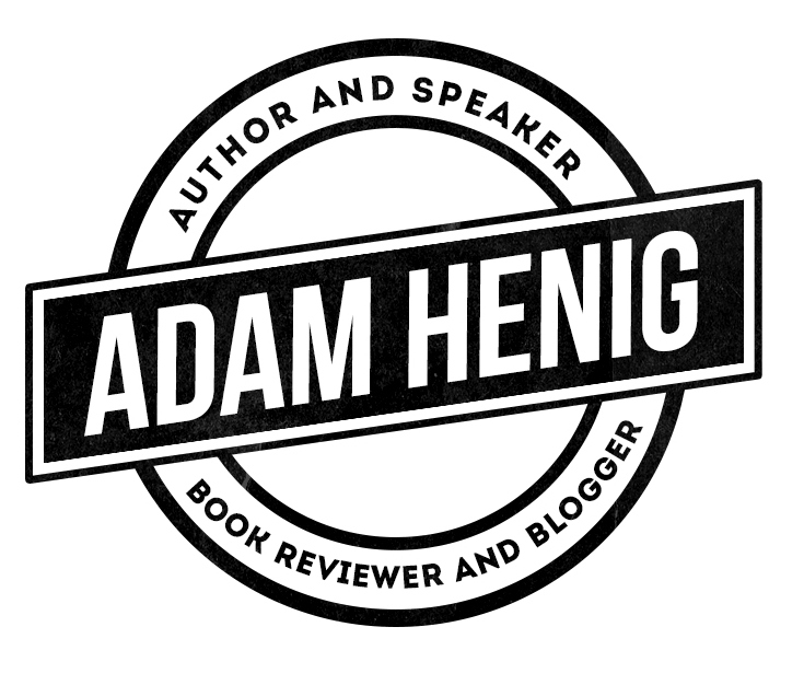 Adam has a new website, logo…Book Talk, 10/20