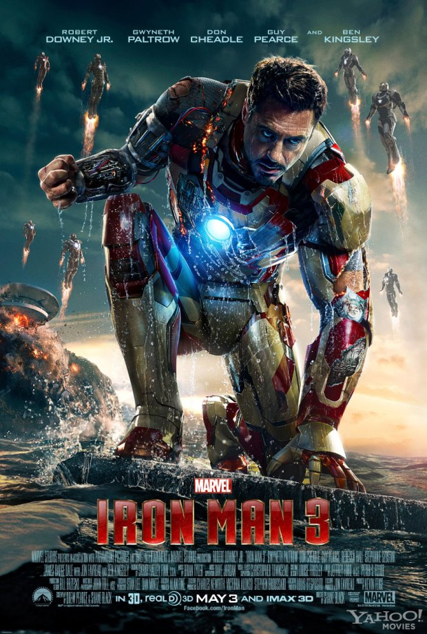 IRON MAN 3 - ROBERT DOWNEY JR