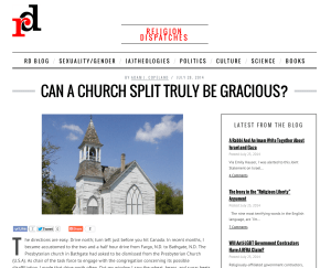 Can a Church Split Truly Be Gracious?