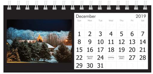 December 2019 Winter Night