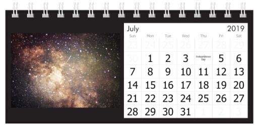 July 2019 Milky Way