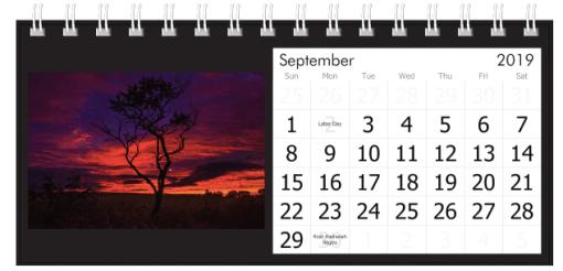 September 2019 Red Sunset