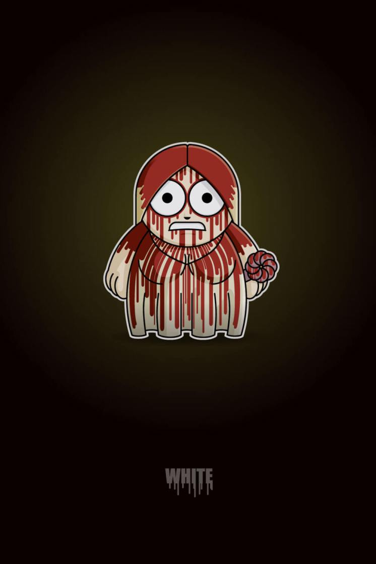 Carrie White Chibi by Adam Miconi