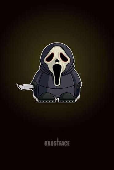 Ghostface Chibi by Adam Miconi